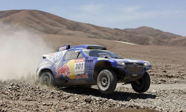 4x4 en el Dakar