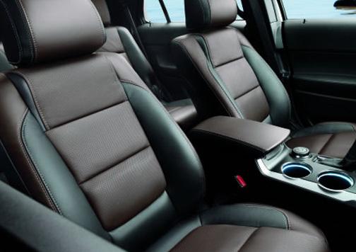 Asientos delanteros de coche