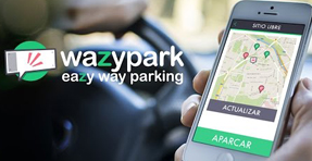 Wazypark App para móviles