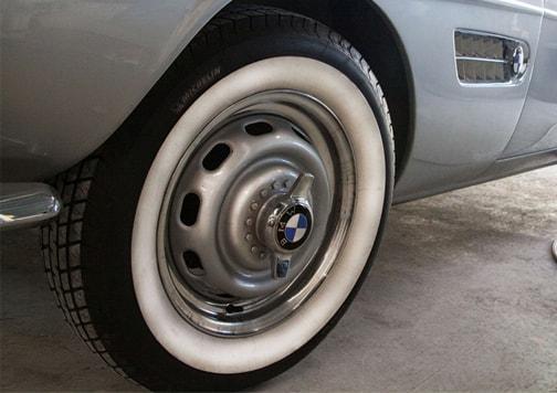 Neumático de un BMW