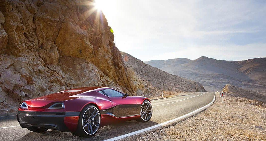 Prototipo del Rimac Concept One