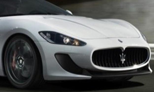Maserati coche de Messi