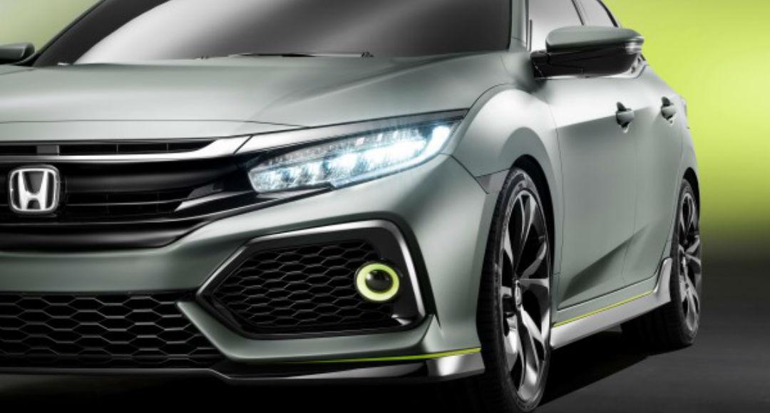 Vista lateral Honda