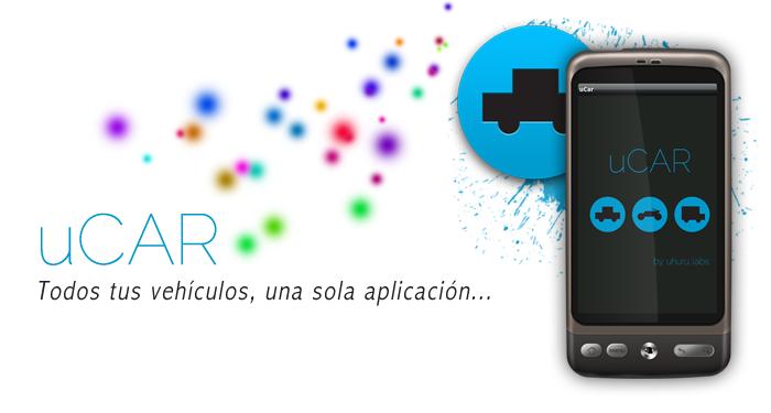 Imagen promocional de la aplicación uCar