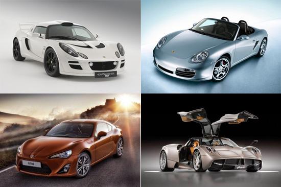 Candidatos al premio al mejor coche del año de la revista evo