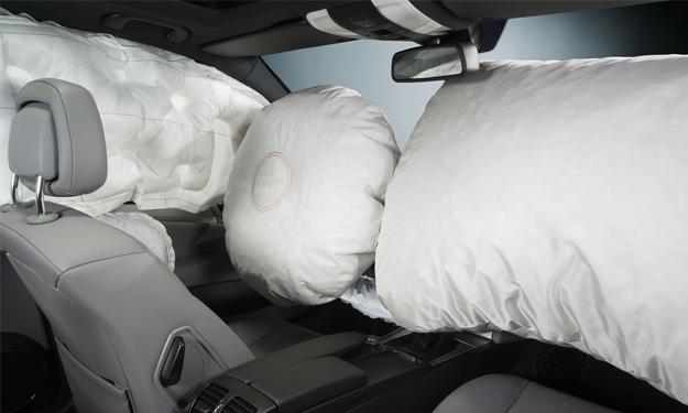 Airbags delanteros de un coche