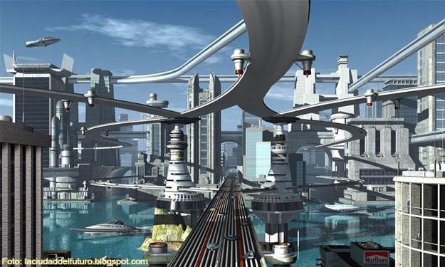 Recreación de una ciudad del futuro