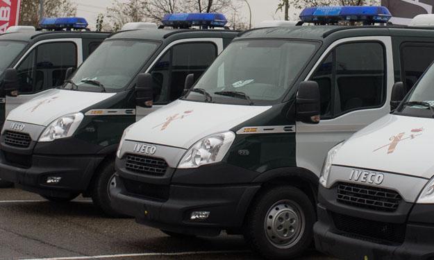 Nuevo furgón de la Guardia Civil de Tráfico