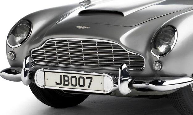 El Aston Martin de James Bond