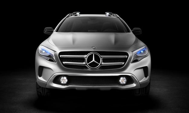 Faros del Mercedes-Benz GLA