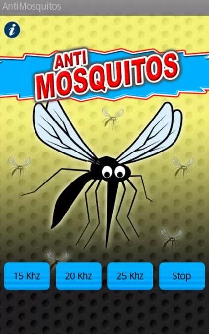 Una curiosa aplicación que asegura ahuyentar a los mosquitos.