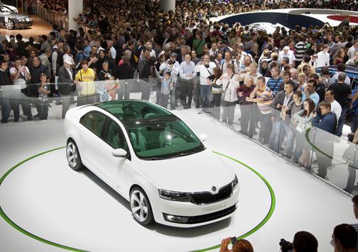El Primer Salón del Automóvil de Frankfurt se celebró en Berlín. Fuente: VDA.