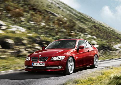 BMW Serie 3 coupé de viaje.
