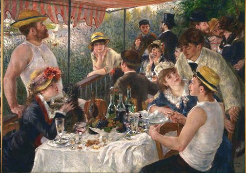 cuadro impresionista de Renoir