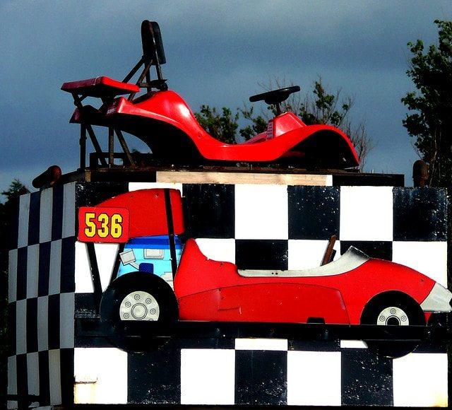 Kart rojo