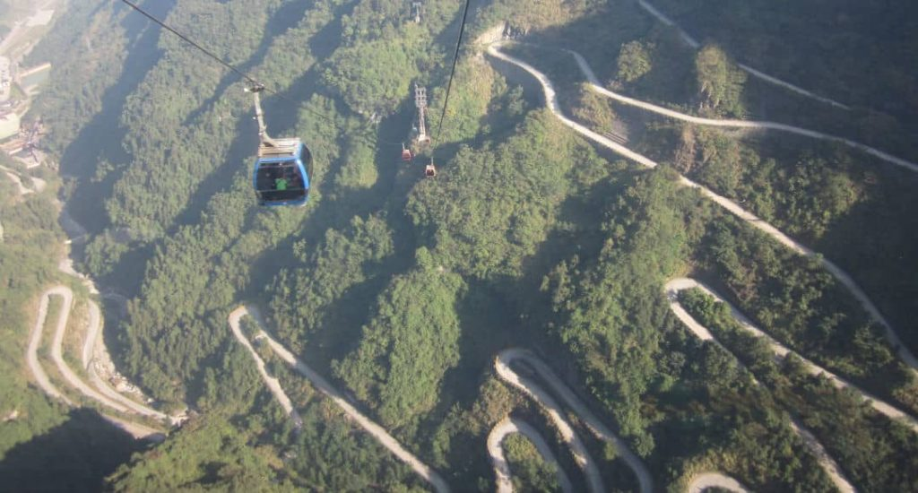 Carretera Tian Men Shan