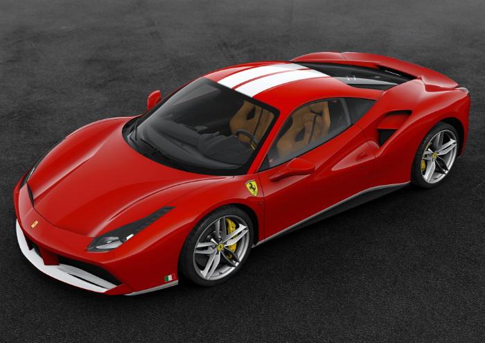 Ferrari rojo Schumacher