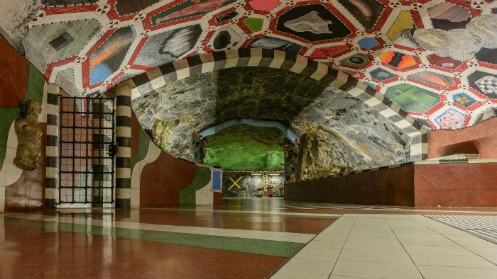 Metro Kungsträdgården Estocolmo