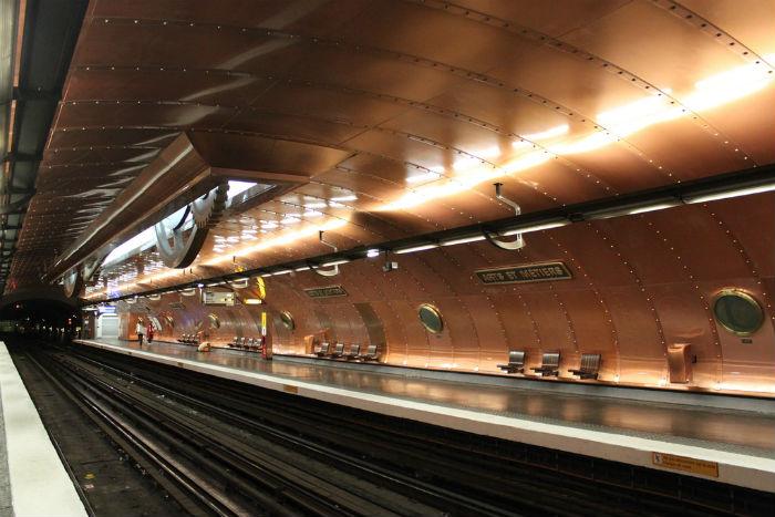 Estación Arts et Metiers París