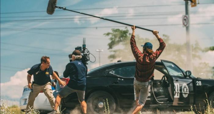 Rodaje The Escape - BMW Films